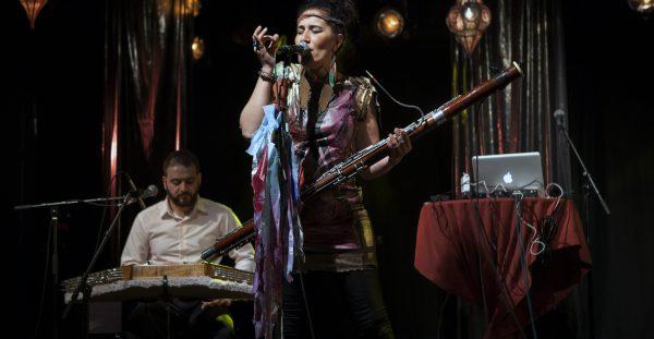 Världsmusik i gruvan när det irakisk folk-avantgarde band Aida Nadeem Band kommer på besök!